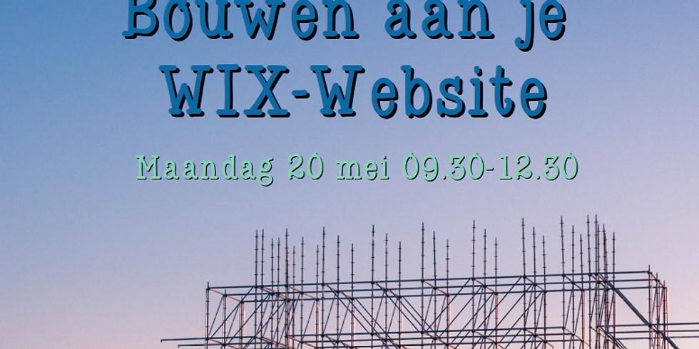 Bouwen aan je WIX-website