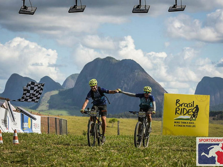 "Participando do ""Giro di Italia"" do Mountain Bike"