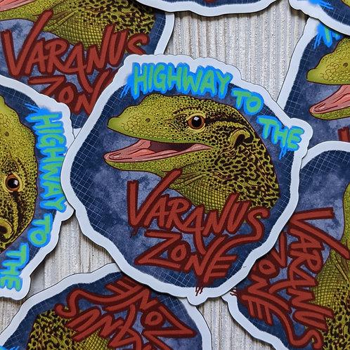 Varanus Zone Magnet