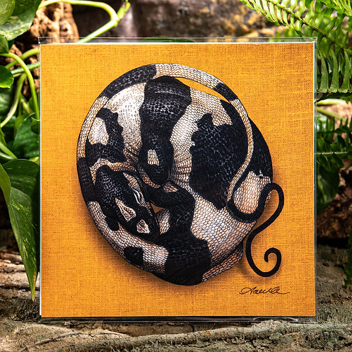 Sleeping Bell's Phase Lace Monitor Large 10x10 Square Print