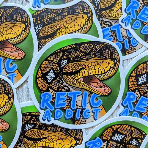 RETIC ADDICT Sticker