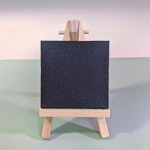 2.6x2.6 Custom Mini Canvas Black