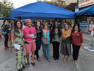 Queens Writers Resist and the Great Outdoors