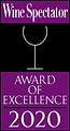 Wine Spectator award 2020