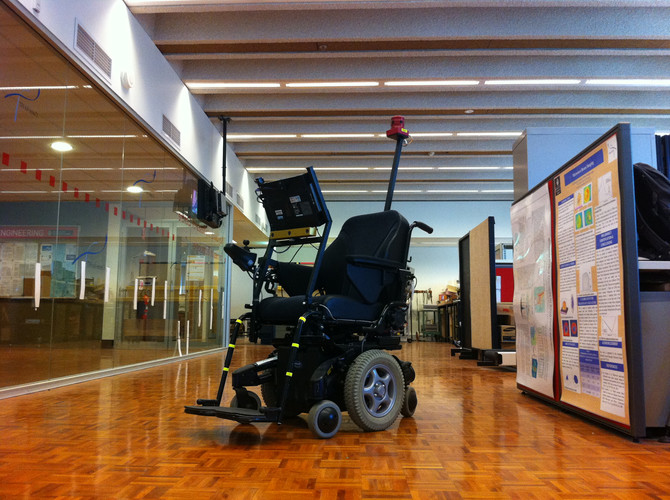 Dr Jordan Nguyen's Thought-controlled Smart Wheelchair