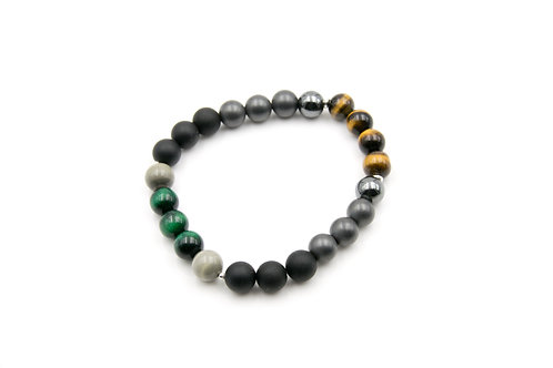 Urban Tiger Eye Two-look Bracelet