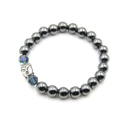 Silver Buddha Zen Moments Bracelet