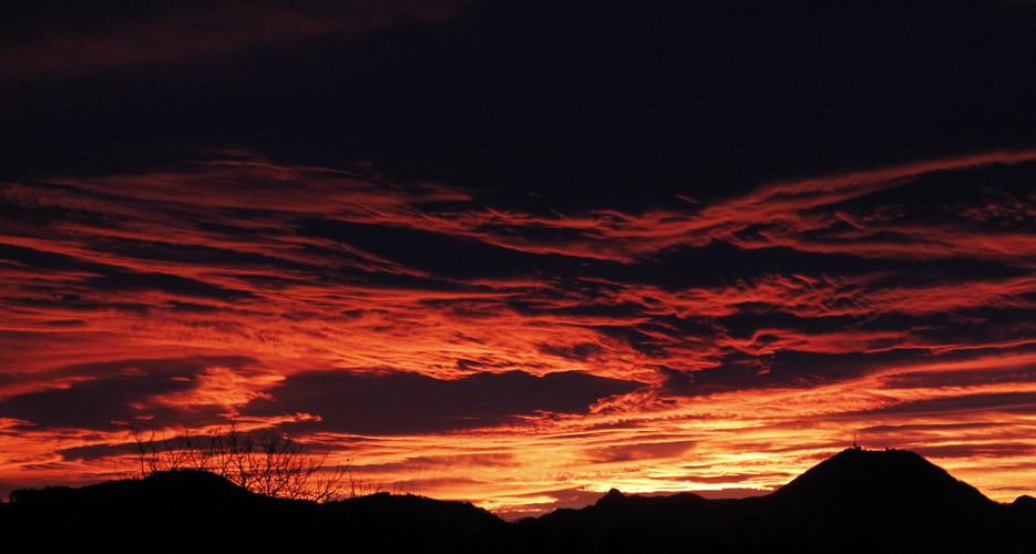 Sonnenaufgang Surheim