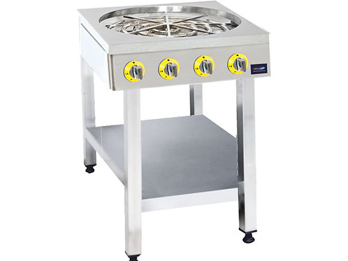 Water pastry cooker (with bottom shelf)
