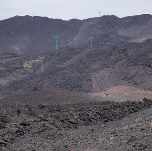 Mama Etna vom Silvestri-Krater aus