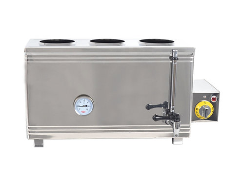 Electric gas single boiler (screw)