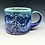 Thumbnail: Purple and turquoise matte dogwood mug