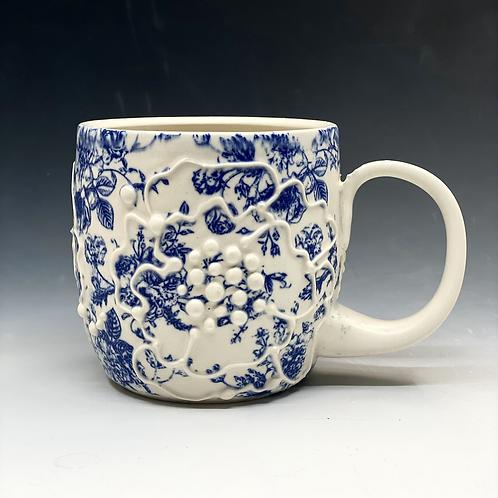 Vintage Floral Mug