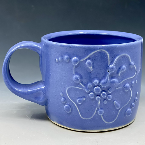 Perwinkle Dogwood Mug