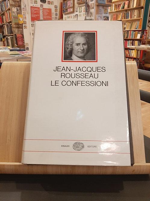 Le confessioni, Jean-Jacques Rousseau, Einaudi 1969