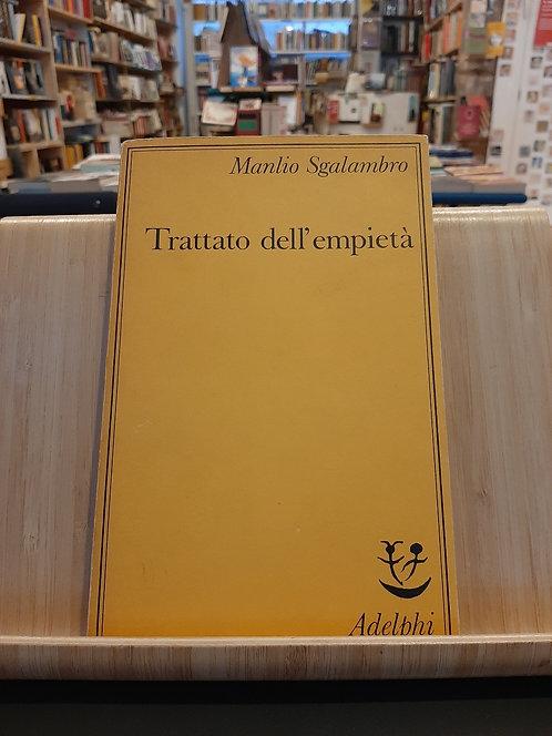 trattato dell'empietà, Manlio Sgalambro, Adelphi 1987