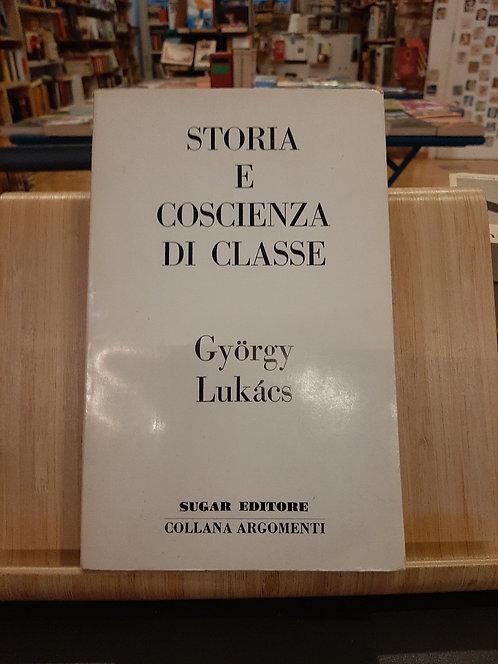 Storia e coscienza di classe, Gyorgy Lukacs, Sugar 1971