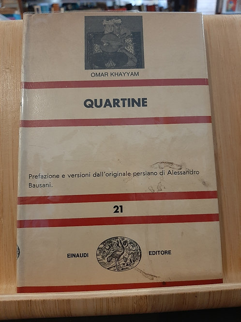 Quartine, Omar Khayyam, Einaudi 1963