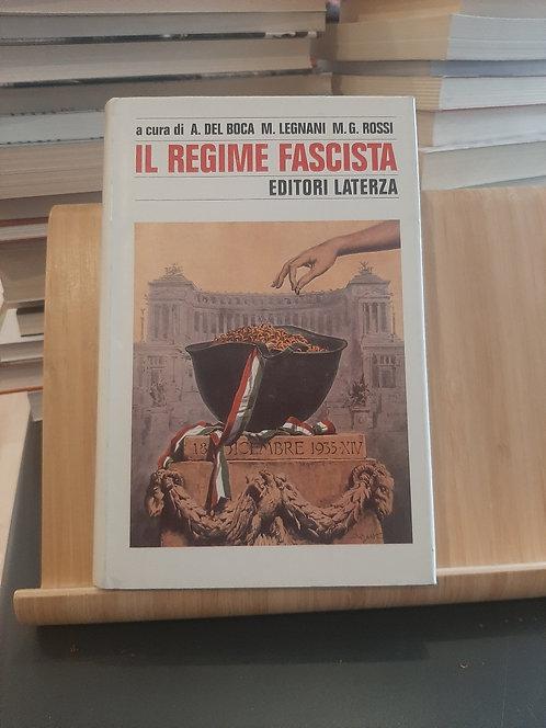 Il regime fascista, Angelo Del Boca, Laterza 1995