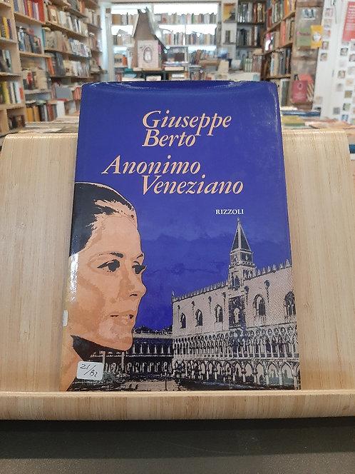 AnonimoVeneziano, Giuseppe Berto, Rizzoli 1971