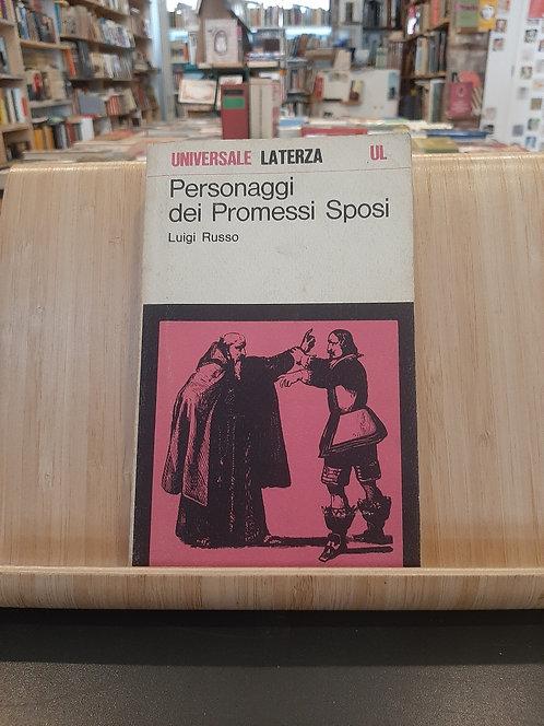 Personaggi dei Promessi Sposi, Luigi Russo, Laterza 1974