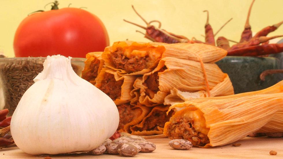 Gluten-Free Vegetarian Vegan Tamales  (3 units)
