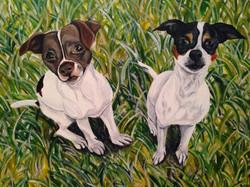 Emily Morris custom painting