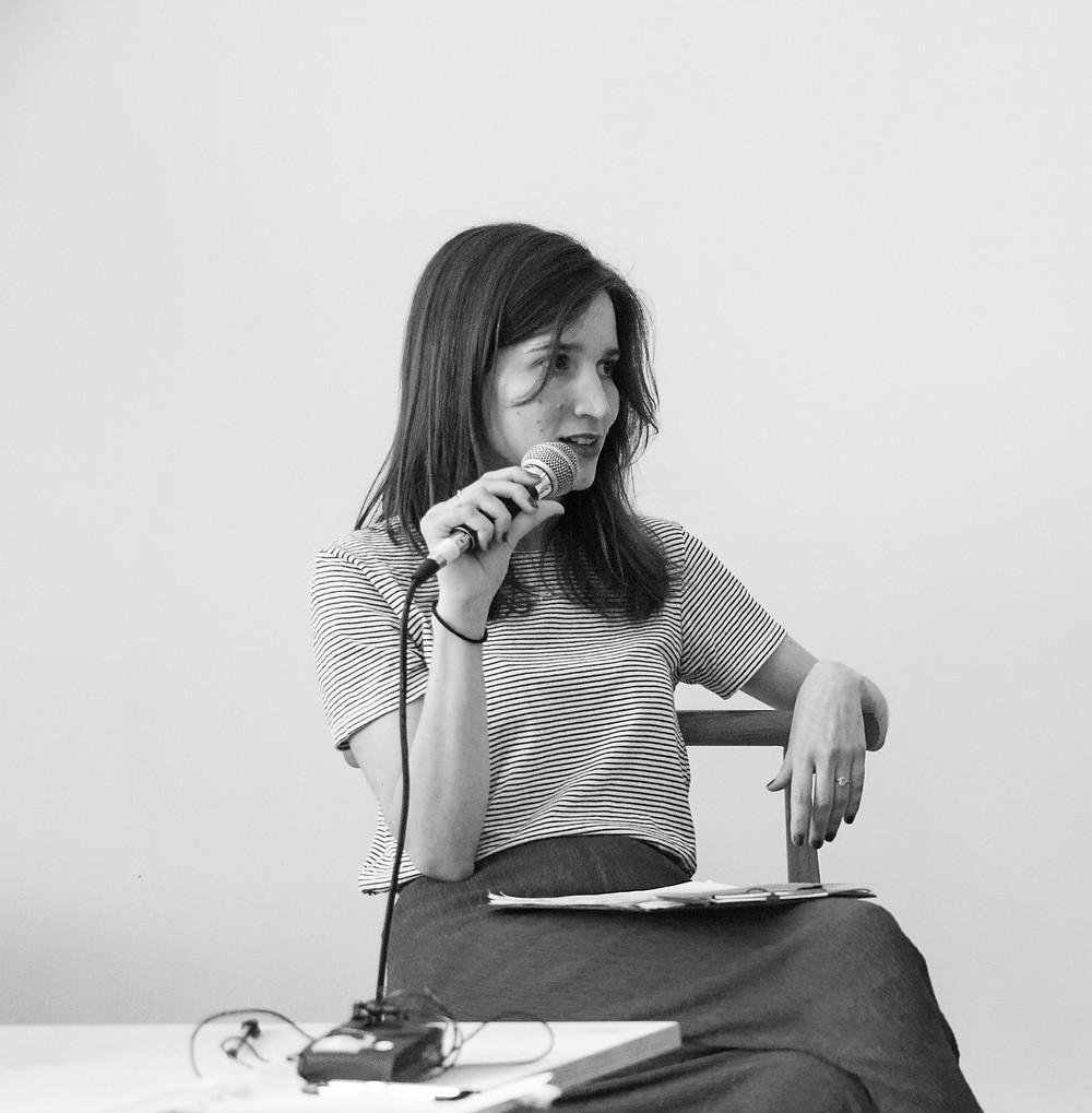 Curator Alba Folgado, Photo by Martim Ramos