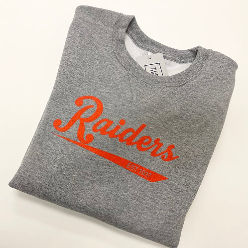 Unisex Grey Raiders Sweatshirt