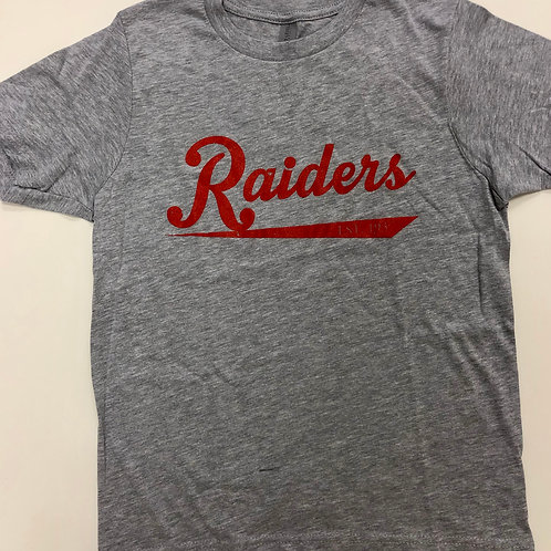 Adult Unisex Grey Raiders Tee