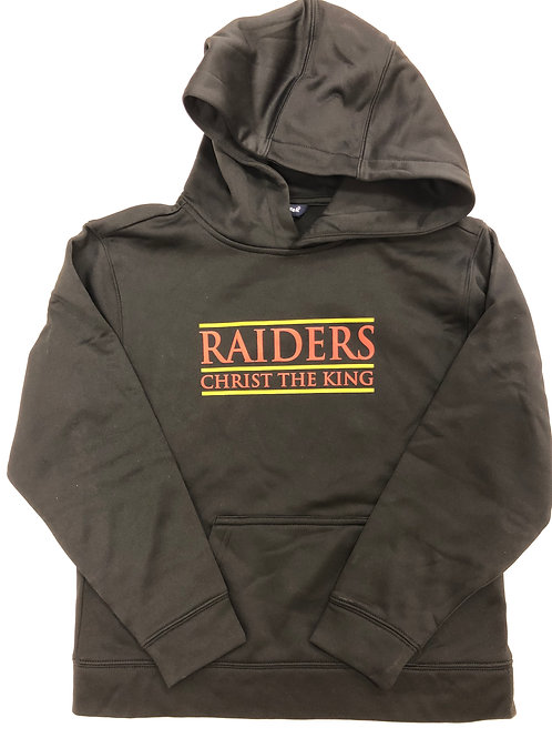 Youth Black Raiders Hoodie