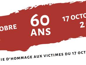 Cérémonie d'hommage aux victimes du massacre du 17 octobre