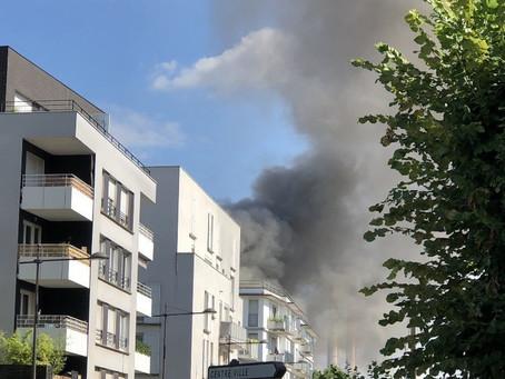 Incendie à l'usine Lusofer, interpellation de Frédéric Bourdon