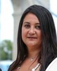 Anissa TIBAH suppléante, candidate suppléante