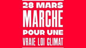 620 organisations (dont la Fabrique) appellent à marcher pour une vraie loi sur le climat