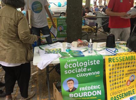 Un maire dynamique, une équipe écologiste, sociale et citoyenne, le 28 juin tout est possible