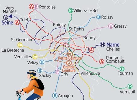 Département, Région, et Vélos