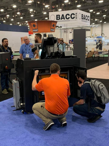 Checking out the U4 at AWFS Vegas 2021