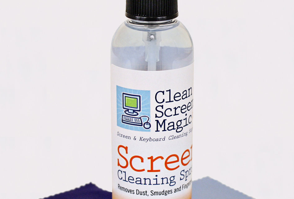 Screen Cleaning Spray Kit • 4oz Pump