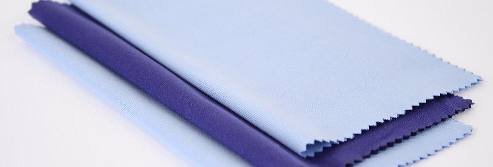 Silky Microfiber Cloth • 3 Pack Multi Color
