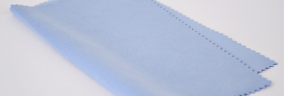 Silky Microfiber Cloth Light Blue