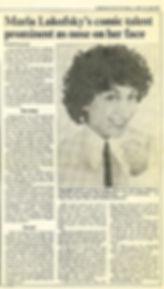 1980 Toronto Star Review (real Print)