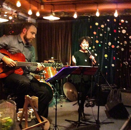 Marla Lukofsky Duo featured at Relish with Nathan Hiltz