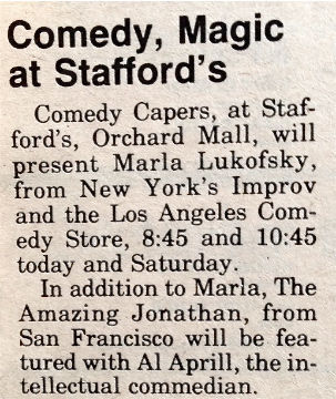 Comedy, Magic at Comedy Capers in Detroi