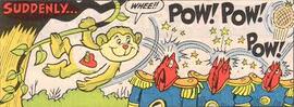 Marla Lukofsky voiced Care Bear's Playful Heart Monkey cartoon character