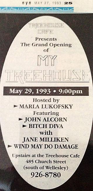 Treehouse w Marla & John Alcorn