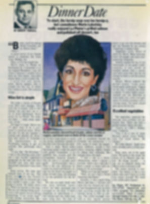 1984 Star TV Guide Dinner Date Interview