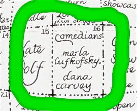 San Fransisco's 'The Other Cafe' with Marla Lukofsky & Dana Carvey