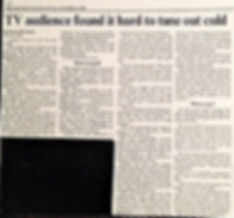 1988 Toronto Star TV Taping Review by Br