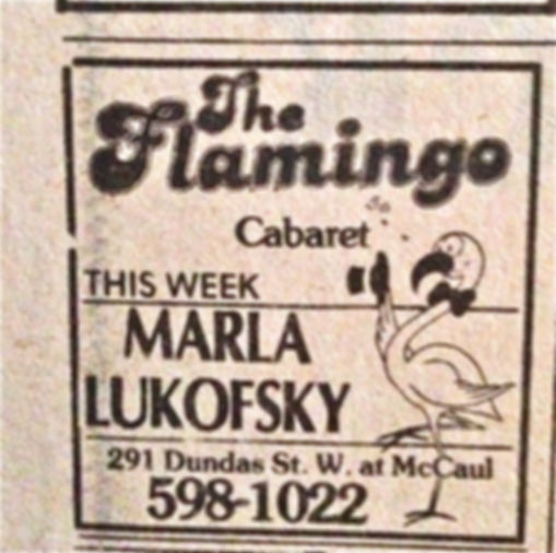 'The Flamingo Cabaret' headlines Marla L